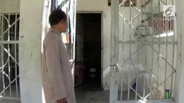Bembe, seorang narapidana yang baru saja di pindahkan dari lapas Mamasa ke lapas Polewali Mandar, Sulawesi Barat, ditemukan tewas sel khusus tahanan lapas Polewali, Jumat (13/7/2018).