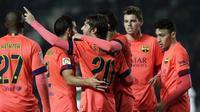 Elche vs Barcelona Copa del Rey (JOSE JORDAN/AFP)