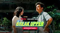 Kevin Ardilova dan Febby Rastanty dalam Vidio Original Series The Break Upper. (Dok. Vidio)