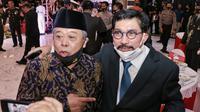Ketua DPD PDI Perjuangan Jawa Timur Kusnadi (kiri) bersama Machfud Arifin. (Ist)