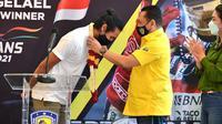 Pengurus Pusat Ikatan Motor Indonesia (PP IMI) mengapreasiasi perjuangan dan prestasi pebalap Indonesia, Sean Gelael di ajang balap Asian Le Mans Series di Dubai dan Abu Dhabi beberapa waktu lalu. (Dok. IMI)