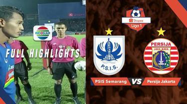 Berita video highlights Shopee Liga 1 2019 antara PSIS Semarang melawan Persija Jakarta yang berakhir dengan skor 2-1, Minggu (26/5/2019).