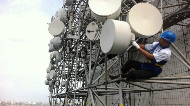 Base Transceiver Station (BTS) milik Indosat. (Doc: Indosat Ooredoo)