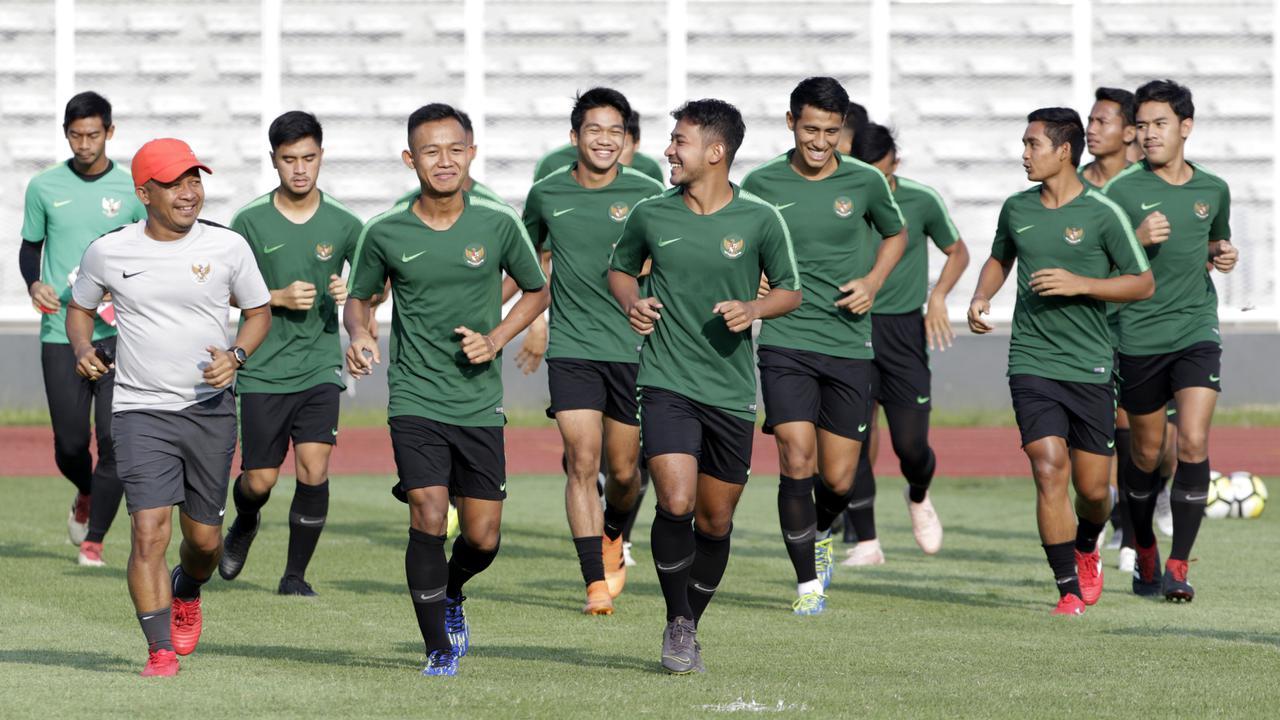 26 Pemain Ikut Latihan Perdana Timnas Indonesia U-22