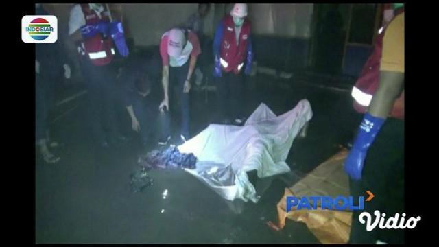 Kantor sekuriti di sebuah hotel di Jakarta Pusat, terbakar. Seorang petugas sekuriti tewas dalam musibah tersebut.