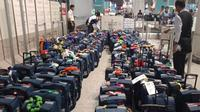 Para petugas maupun jemaah haji tetap diimbau untuk tidak membawa barang berlebih. (www.haji.kemenag.go.id)