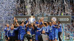 Chelsea (5 kali juara Premier League) - Tahun juara: 2004–2005, 2005–2006, 2009–2010, 2014–2015, 2016–2017. (AFP/Carl De Souza)