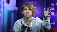 "Evelyn Nada Anjani, ""Dear Haters"" di SCTV Tower,   Senayan City, Jakarta Pusat, Kamis (18/5/2017) [foto: Liputan6.com/Herman Zakharia]"