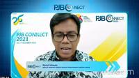Deputi Bidang Perencanaan Penanaman Modal BKPM Nurul Ichwan menjabarkan perolehan investasi.