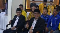 Wali Kota dan Wakil Wali Kota Malang terpilih, Sutiaji - Sofyan Edi (kiri - kanan) saat mendaftar di KPU, 10 Januari 2018 (Liputan6.com/Zainul Arifin)