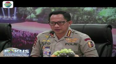 Guna pengamanan acara penutupan Asian Games 2018 di Stadion GBK, telah disiapkan 9.422 personel gabungan TNI-Polri serta Pemda DKI Jakarta.