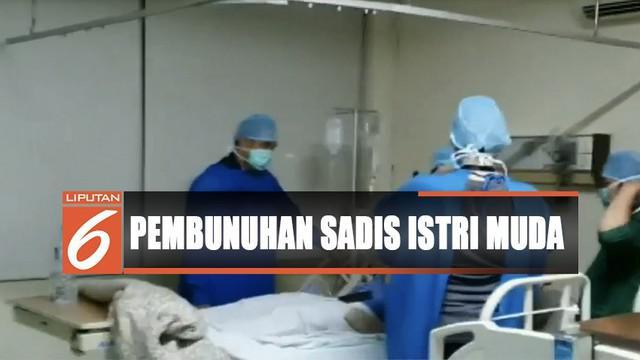 Saat mendatangi rumah sakit, dia mengaku terluka bakar usai terlibat kecelakaan.