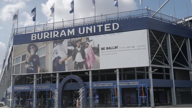 Chang Arena, Stadion milik Buriram United. (Bola.com/Ade Yusuf Satria)