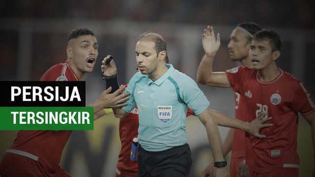 Berita video momen-momen drama saat Persija Jakarta kalah 1-3 dari Home United di Piala AFC 2018.