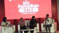 Shopee meluncurkan beberapa program dan fitur dalam menyambut bulan Ramadan. (Liputan6.com/Henry)