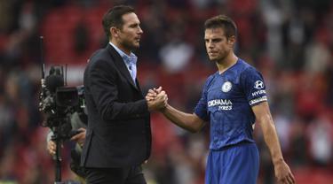 Dibantai MU 4-0, Begini Ekspresi Frank Lampard Usai Pertandingan