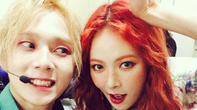 Resmi Keluar dari Agensi, HyunA Tak Malu Bermesraan Bareng