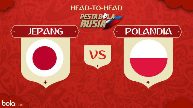 Berita video head-to-head Piala Dunia Rusia 2018: Jepang vs Polandia.