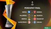 Liga Europa Perempat Final (Bola.com/Adreanus Titus)