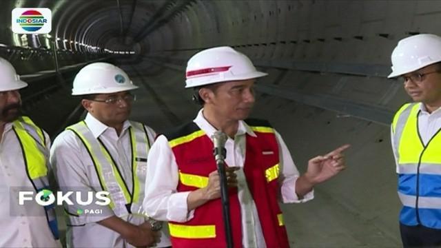 Presiden Joko Widodo memastikan, MRT di Jakarta akan beroperasi secara penuh pada Maret 2019 mendatang.