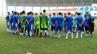 Ilustrasi: Persib Bandung berencana menggelar pemusatan latihan alias training center (TC) usai terdepak dari fase penyisihan Piala Presiden 2019.