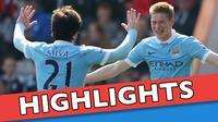 Video highlights Premier League antara Bournemouth melawan Manchester City yang berakhir dengan skor 0-4, Sabtu (2/4/2016) WIB.