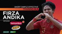 Short Simple Effective Training Ala Firza Andika Bersama Hemaviton Energy Drink (Grafis: Adreanus Titus/Bola.com)