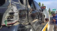 Tidak ada korban jiwa dalam insiden ini, namun para pengemudi kendaraan yang terlibat kecelakaan mengalami luka-luka