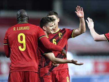 Taklukan Denmark, Belgia Menuju Semifinal UEFA Nations League
