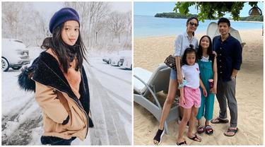 Beranjak Remaja, Ini 6 Potret Sarah Abiela Putri Artika Sari Devi dan Ibrahim Imran