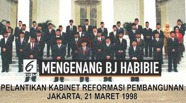 BJ Habibie diangkat sebagai menteri riset dan teknologi oleh presiden Soeharto tahun 1978. Jabatan ini terus melekat selama dua dekade.