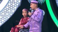 Naja dan Irfan Hakim di Hafiz Indonesia 2019. (dok. YouTube Hafiz Indonesia)