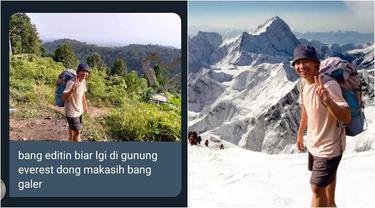 7 Foto Netizen di Gunung Ini Minta Diedit, Hasilnya Diluar Ekspektasi