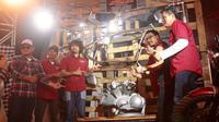 Potongan bodi dan mesin Iconic Bike Ketiga ini sudah diperlihatkan di Suryanation Motorland di Denpasar beberapa waktu yang lalu. (ist)