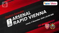 Arsenal vs Rapid Vienna (Liputan6.com/Abdillah)