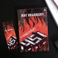 Novel Fahrenheit 451./Copyright Endah