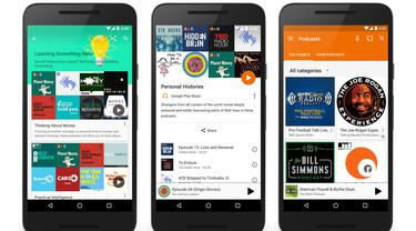 Podcast di Google Play Music