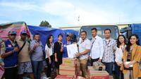 Bantuan untuk korban banjir Lebak terus mengalir.