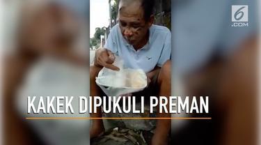 Kakek Pranie asal Filipina dianiaya oleh preman.