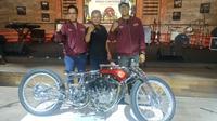 5 Motor Kustom Berebut Tempat Terbaik di Jakarta (Arief A/Liputan6.com)