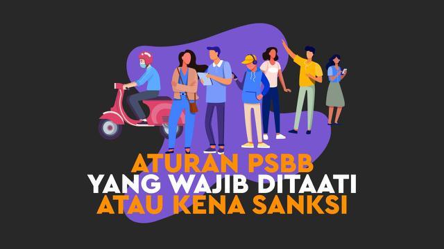 Gubernur DKI Jakarta, Anies Baswedan mengingatkan ada sanksi 1 tahun penjara dan denda Rp 100 juta buat warga yang melanggar aturan PSBB
