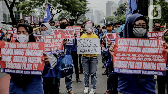 Berita Demo Hari Ini Tolak Omnibus Law Ruu Cipta Kerja News Liputan6 Com
