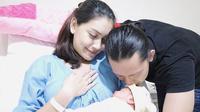 Melody Prima usai melahirkan anak pertamanya.
