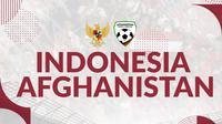 Uji Coba Indonesia vs Afghanistan. (Bola.com/Dody Iryawan)