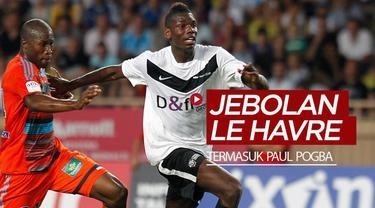 Berita video Paul Pogba termasuk dalam daftar 7 pesepak bola tenar jebolan klub tertua di Prancis, Le Havre. Siapa lagi selain Pogba?