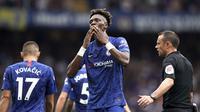 Tammy Abraham cetak dua gol saat Chelsea melawan Sheffield United (AP)