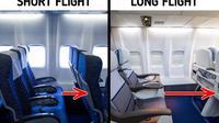 Perbedaan Pesawat Jarak Jauh dan Dekat. (Sumber: Brightside)