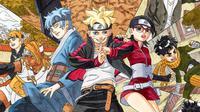 Manga Boruto, spinoff dari kisah Naruto. (shonenjump.com)