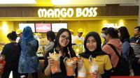 Mango Boss, minuman mangga lokal membuka gerai ke-7 di Pondok Indah Mall 2 (Liputan6.com/Novi Nadya)