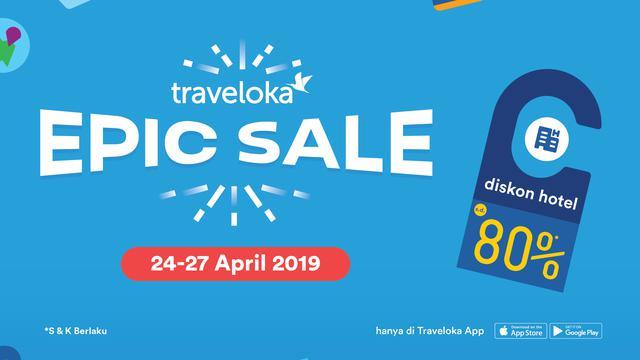 Berikan Potongan Harga Hingga 80 Ini Keunggulan Promo Epic Sale Traveloka Lifestyle Liputan6 Com
